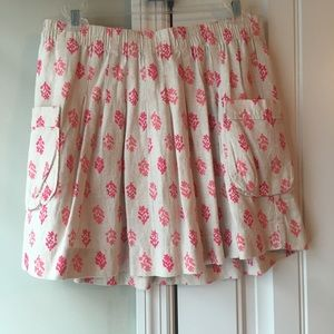 Used, Skirt with coral reef print for sale